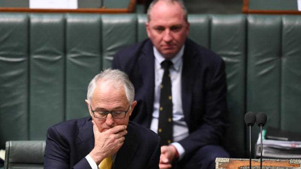Turnbull government at the edge of the political abyss