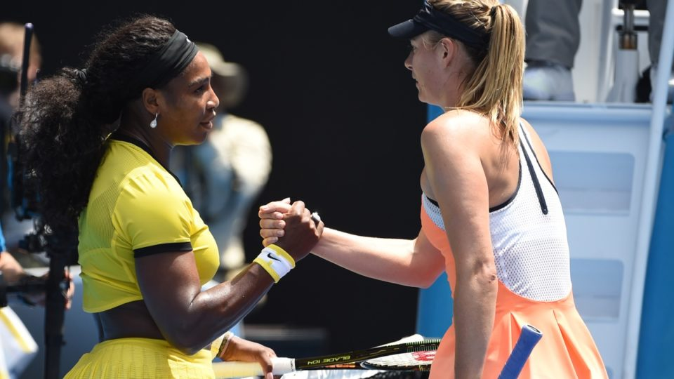 Serena Williams and Maria Sharapova have never liked each other