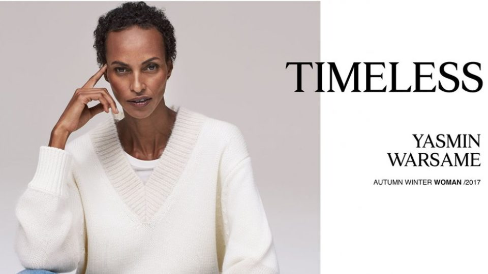 Zara has enlisted models in their 40s and 50s for its latest campaign