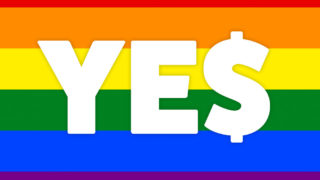 Business decides the money is behind a 'yes' vote.