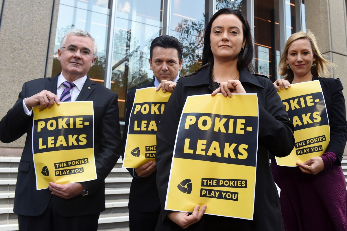 The Pokie-Leaks campaign initiated by Independent MP Andrew Wilkie, Greens Senator Larissa Waters and the NXT's Nick Xenophon are planning on using parliamentary privilege to protect whistleblowers who come to them with secret information about industry tactics, poker machine design and payments to politicians.