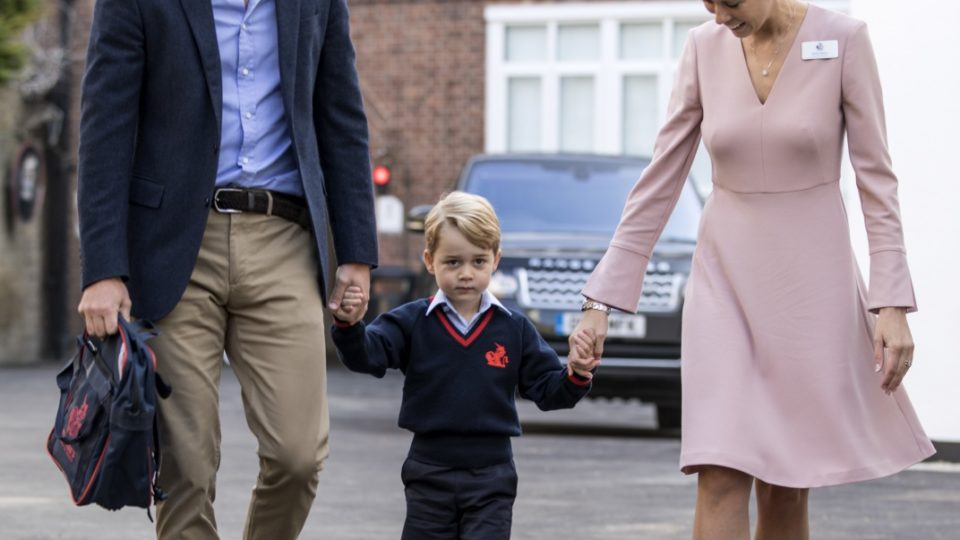 Prince George starts primary school this week