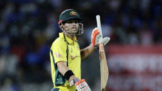 Australia India David Warner