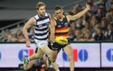 NRL finals 2017 Adelaide Crows thump Geelong Cats