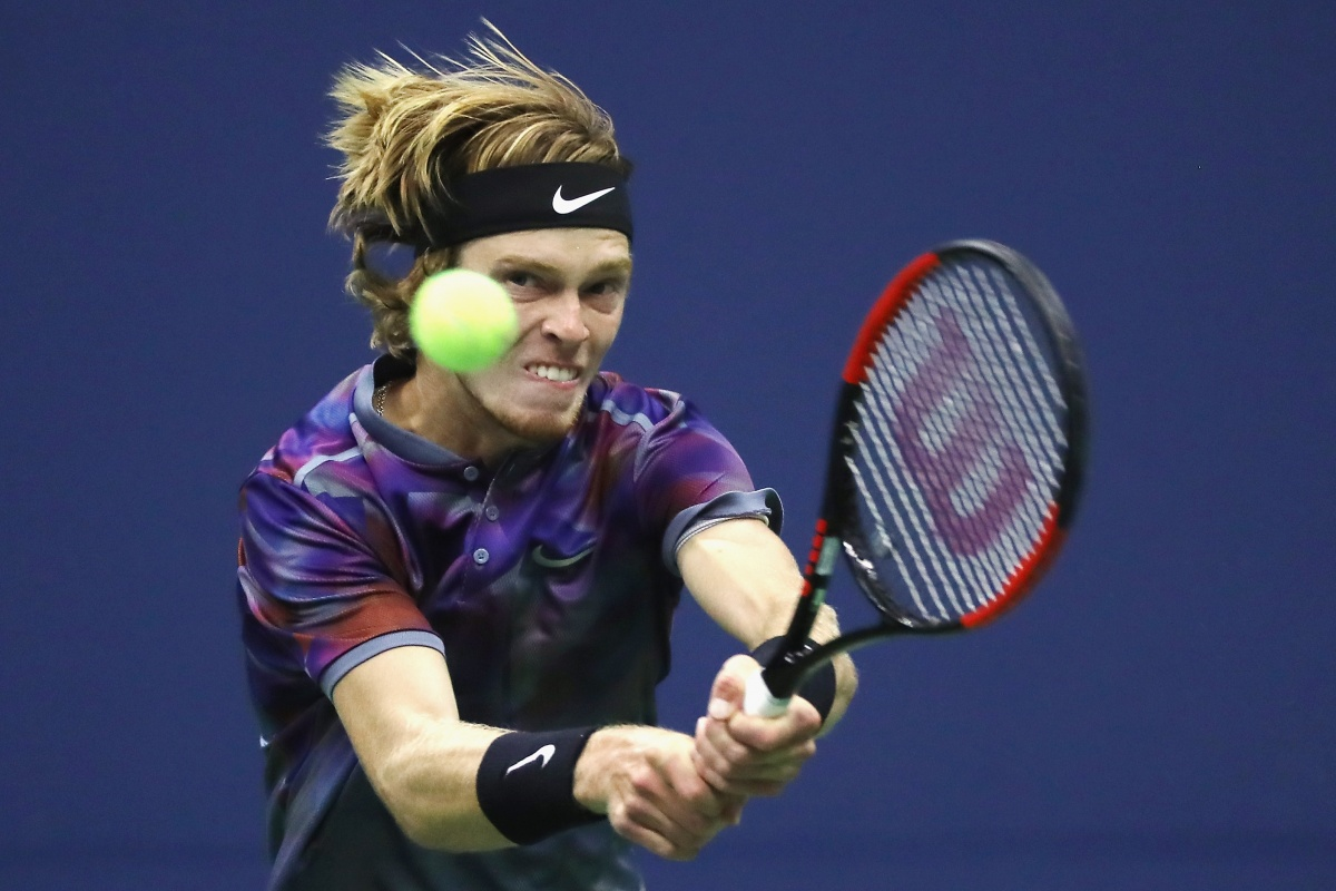 us open 2017 Andrey Rublev