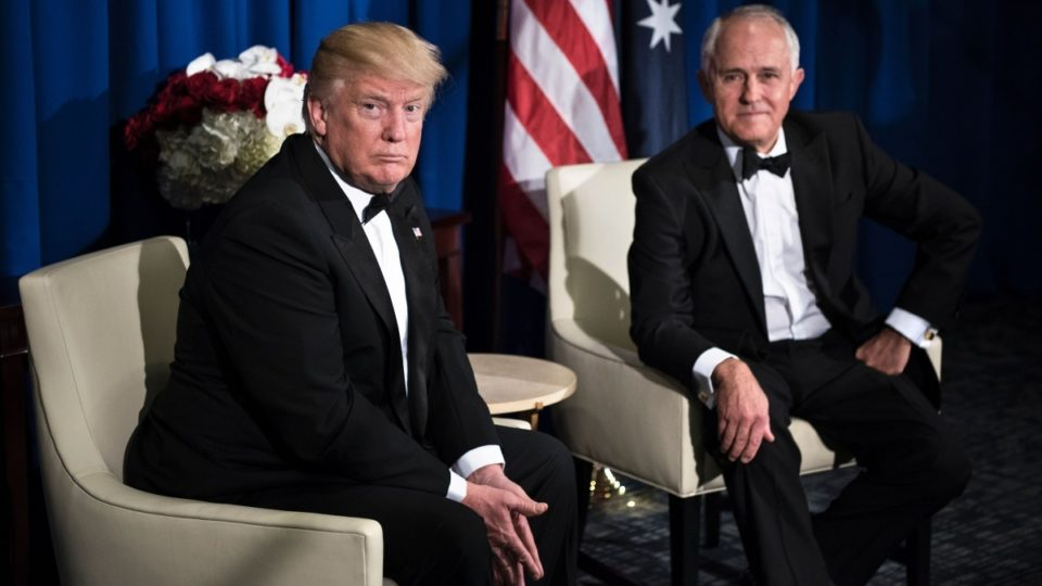Malcolm Turnbull Donald Trump North Korea