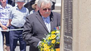 Former RSL NSW president Don Rowe