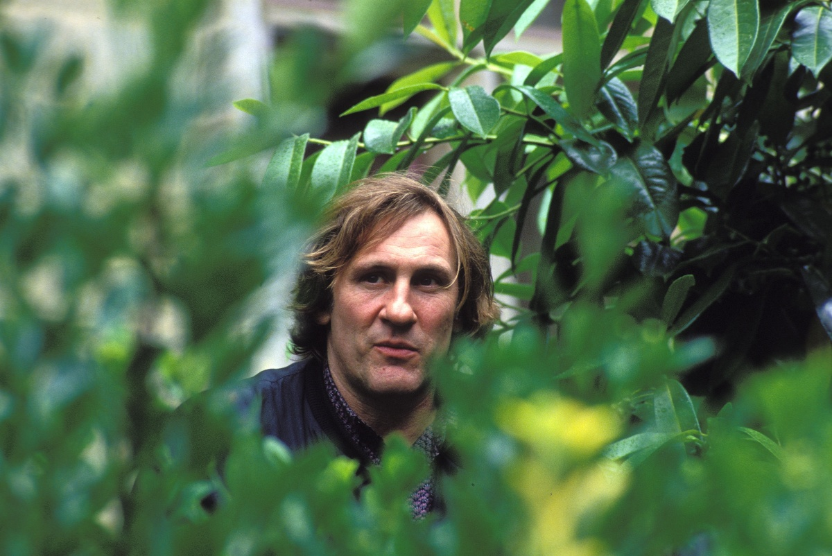 French actor Gérard Depardieu is pictured in 1994.
