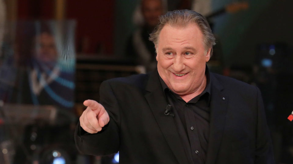 French actor Gérard Depardieu, pictured April 2017
