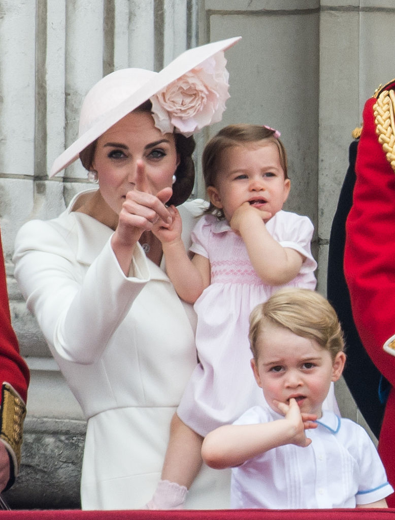 Prince William and Kate have two children, four-year-old George and two-year-old Charlotte