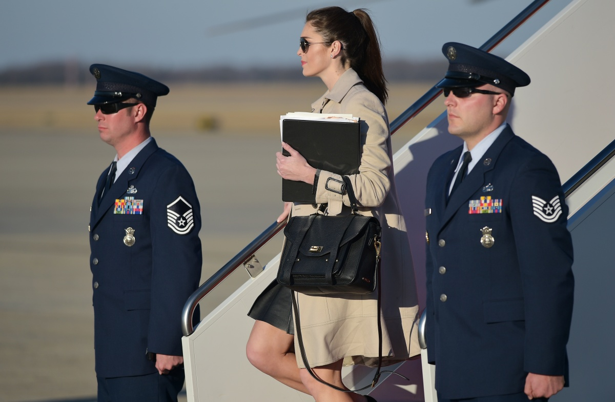 Hope Hicks Salary >> 'Trump Whisperer' Hope Hicks' special bond with the president