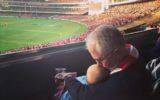 Malcolm Turnbull and grandchild