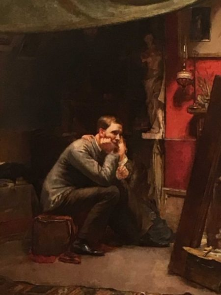 Rejected by Australian artist Tom Roberts