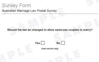Same-sex marriage ballot