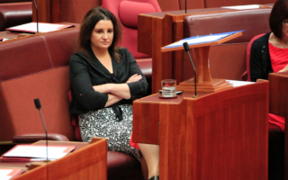"""Senator Jacqui Lambie is looking for """"people with at least half a spine"""" to stand for her party in the next state election."""