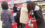 A Brisbane mother has complained after witnessing a group of women purchase baby formula.