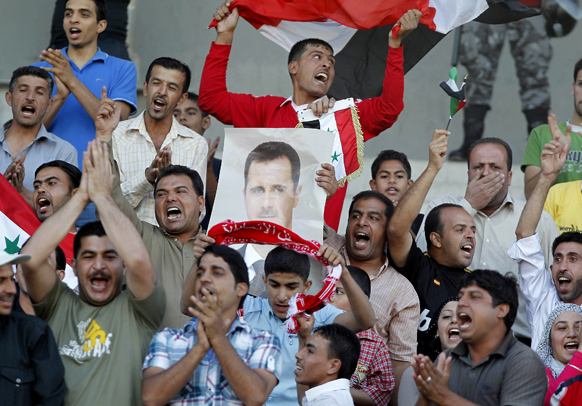 bashar-al-assad-football