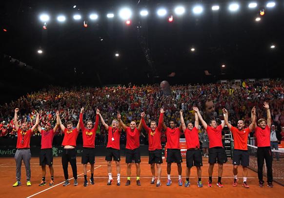 Belgium Davis Cup Australia