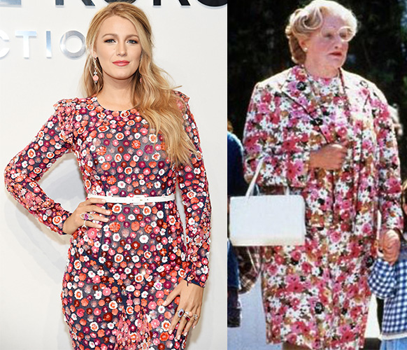 blake lively and mrs doubtfire