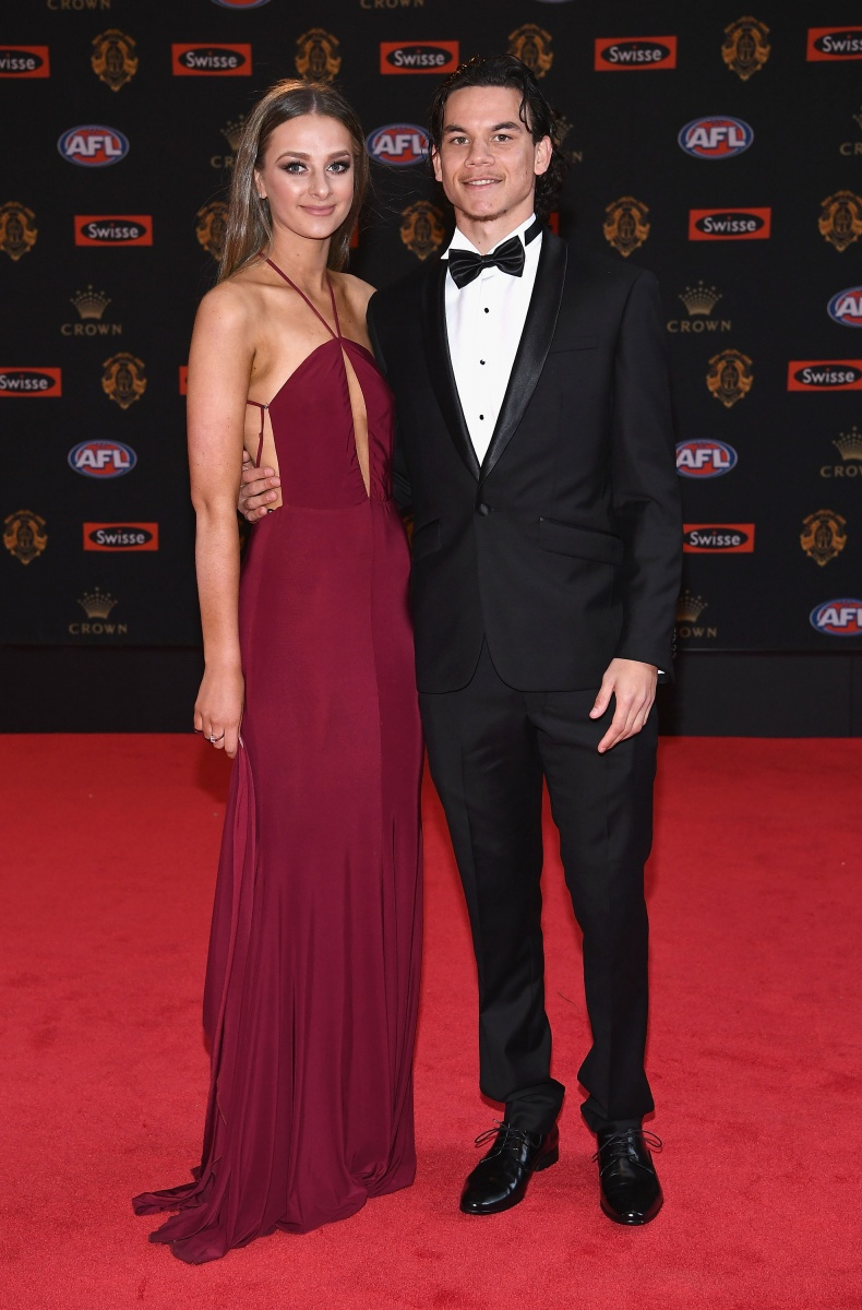 Brownlow Medal 2017 Daniel Riolo Of Tigers And Issy Hardwick The New Daily