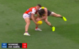 Trent Cotchin and Dylan Shiel