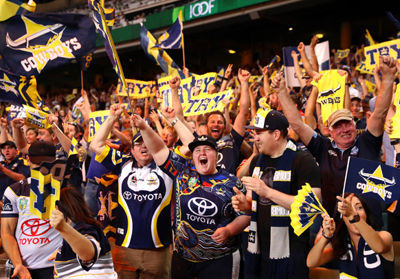 North Queensland Cowboys fans