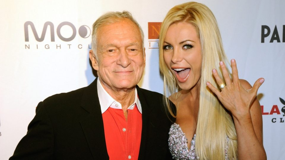 hugh hefner left his widow crystal out of his will