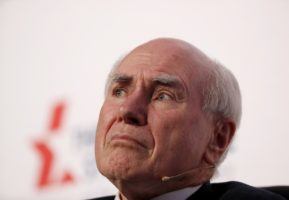 John Howard says he is raising legitimate questions about the same-sex marriage postal survey.