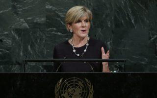 Julie Bishop hits back at calls for sacking