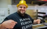 """Waleed """"Wally"""" Khawli's barbecue chicken shop went viral when he started dancing on camera."""