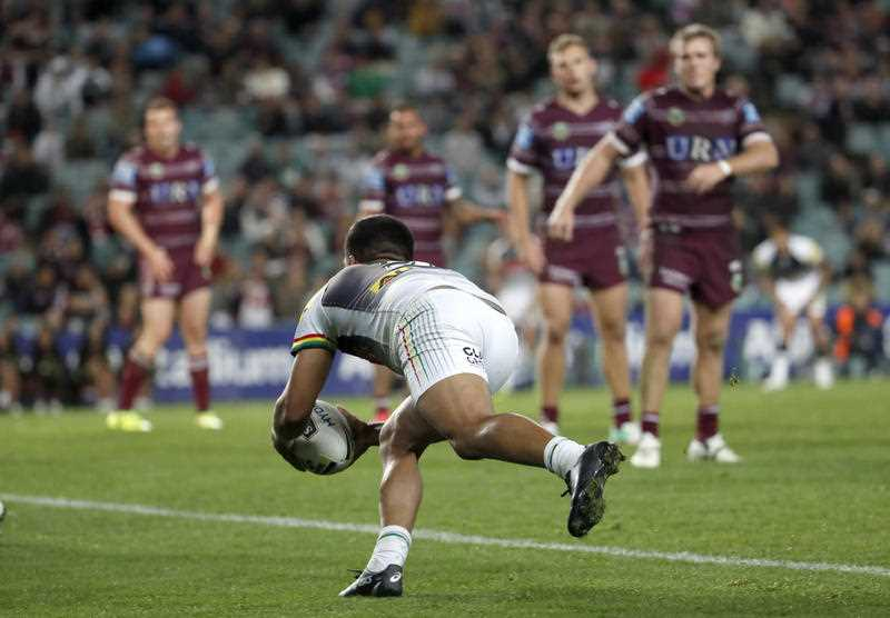 manly sea eagles v penrith panthers