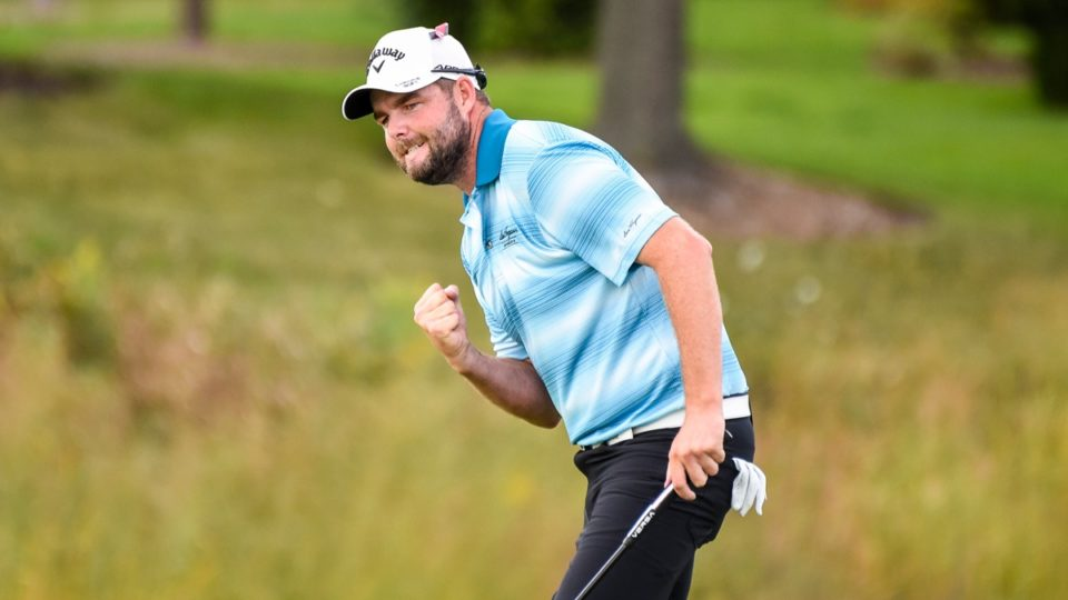 Leishman stretches lead at BMW Championship
