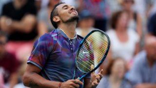Nick Kyrgios Australian Tennis grand slam result