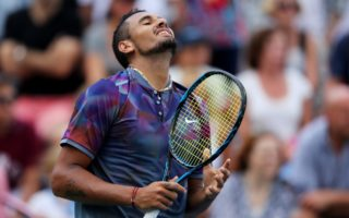 Nick Kyrgios Australian Tennis grand slam result