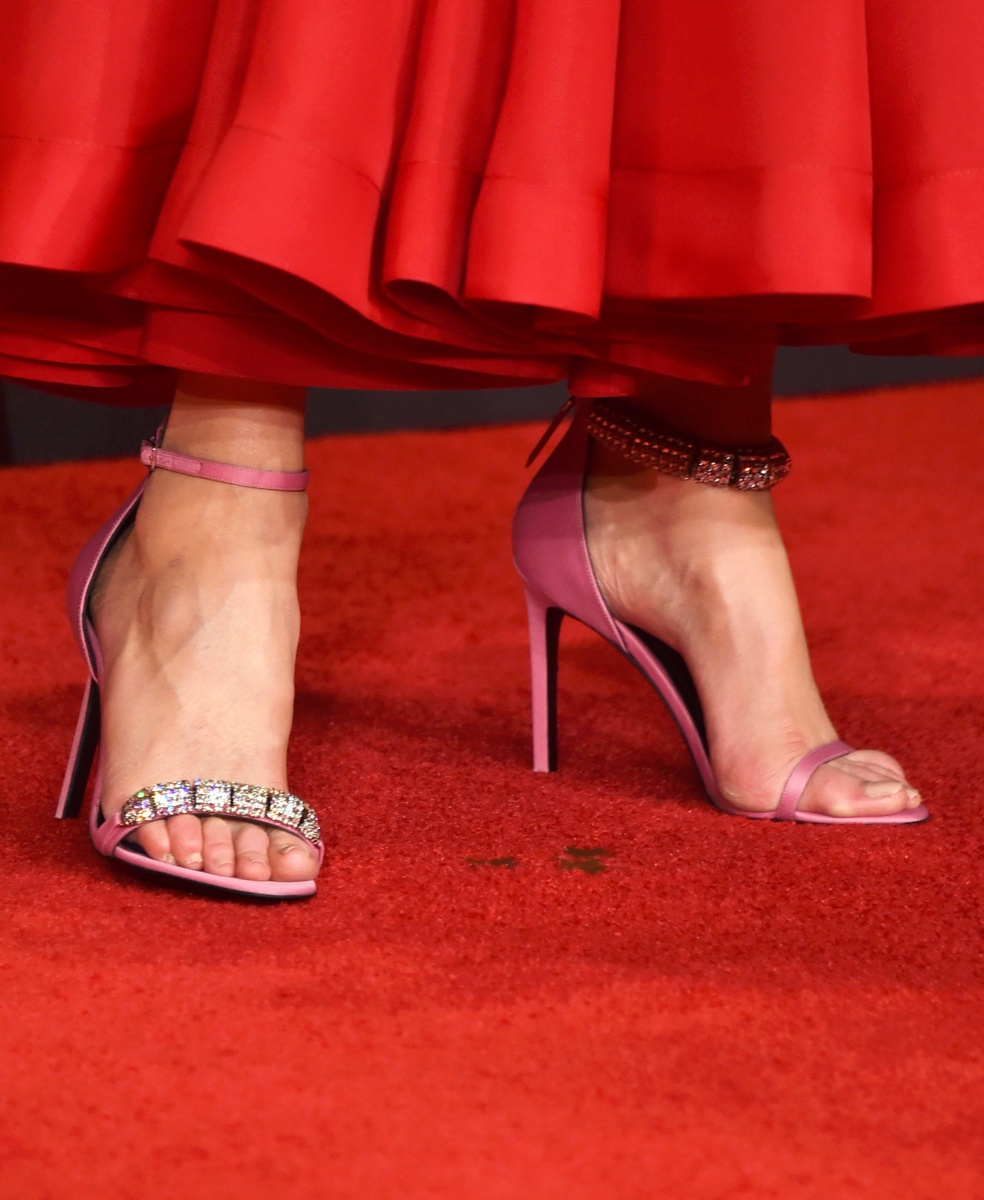 Nicole Kidman's shoes at the 2017 Emmys