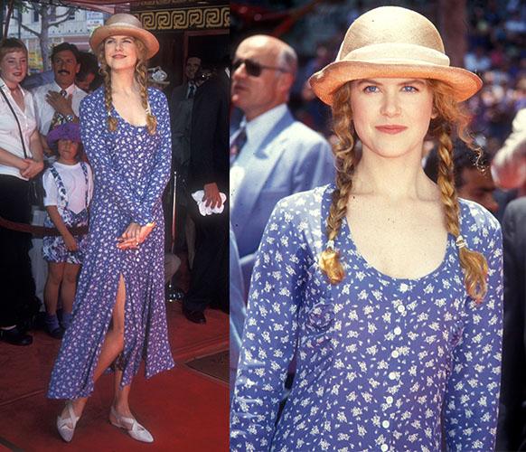 Nicole Kidman in a floral dress