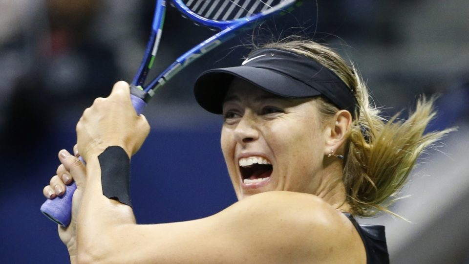 Sharapova's US Open ends; Williams faces Kvitova in quarters
