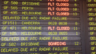 Flights leaving Sydney Airport have been grounded on Monday morning.