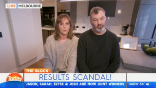 the block contestants sarah and jason on the today show