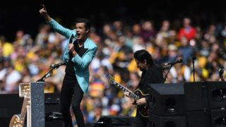 the killers at the afl grand final