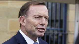 Tony Abbott headbutt