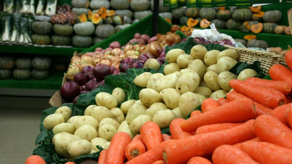 Vegetables got 11 per cent cheaper over the last three months.