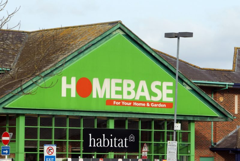 Most Bunnings stores in the UK still trade as Homebase.