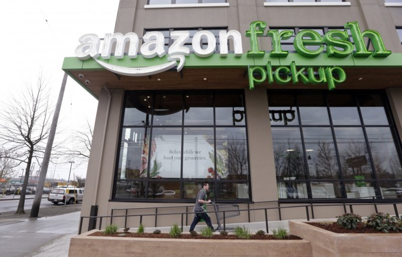 Online retail colossus Amazon is set to launch its grocery business any day.