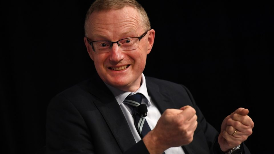 RBA governor Philip Lowe has pressed the accelerator on the economy. Photo: AAP