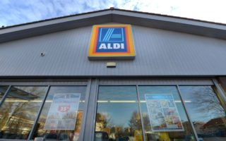 ALDI's market share is now approaching 10 per cent.