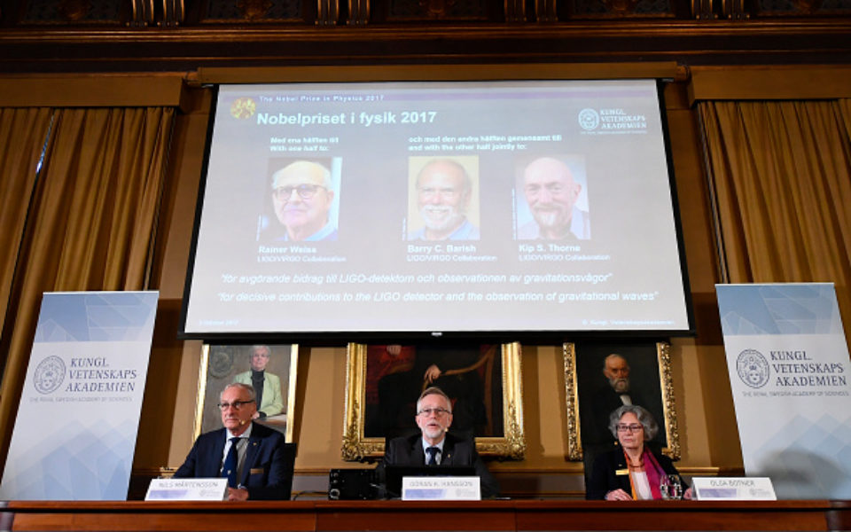 Gravitational waves scientists win Nobel Prize for Physics