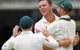 Josh Hazlewood and Nathan Lyon