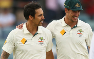 Mitchell Johnson and Mitchell Starc