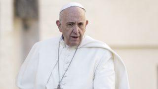 Pope Francis astronauts